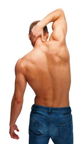 Rückenhaare Rasieren